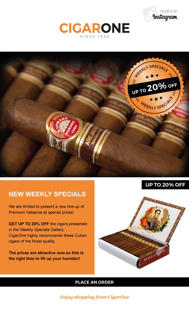 CigarOne Newsletter